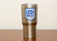 ASEE 125th Anniversary Tumbler